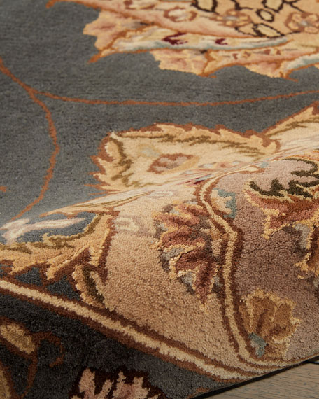 Image 4 of 4: NourCouture Mosaic Hand-Tufted Runner, 2.6' x 12'
