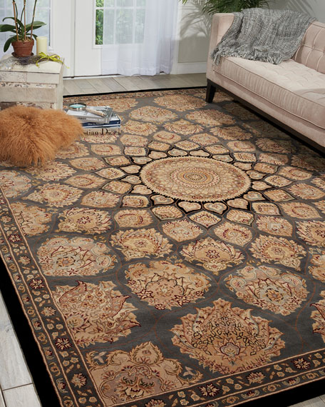 Image 1 of 4: NourCouture Mosaic Hand-Tufted Runner, 2.6' x 12'