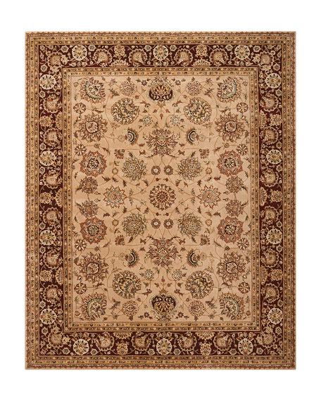 Image 2 of 4: NourCouture Colonial Hand-Tufted Rug, 9' x 12'