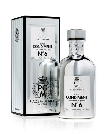 Piazza Grande Modena Chrome Collection No. 6 Condiment, 8.45 oz./ 250 mL