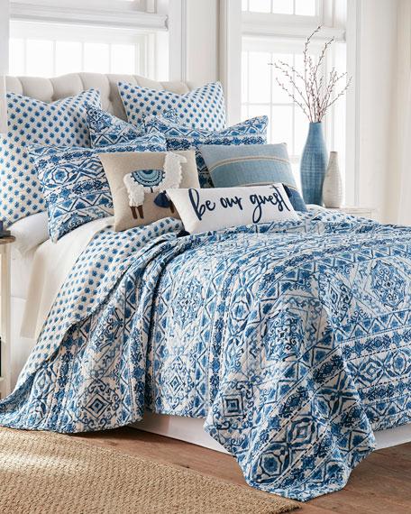 Levtex Lillian Chenille Pieced Pillow