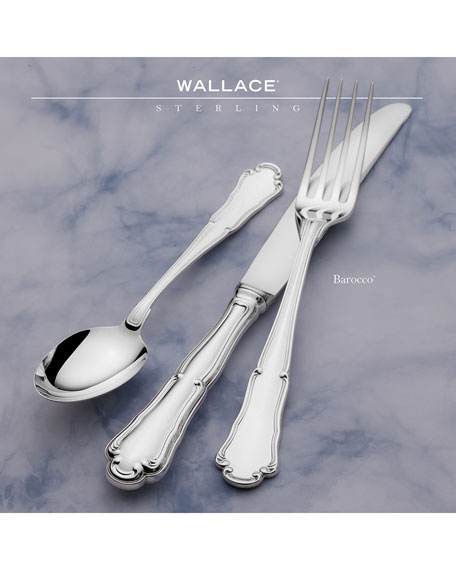 Wallace Silversmiths Barocco 5-Piece Dinner Flatware Set