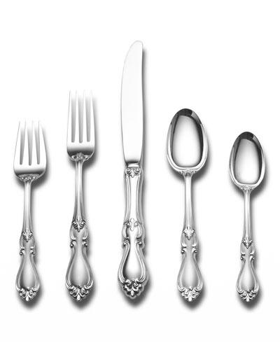 Queen Elizabeth 66-Piece Dinner Flatware Set
