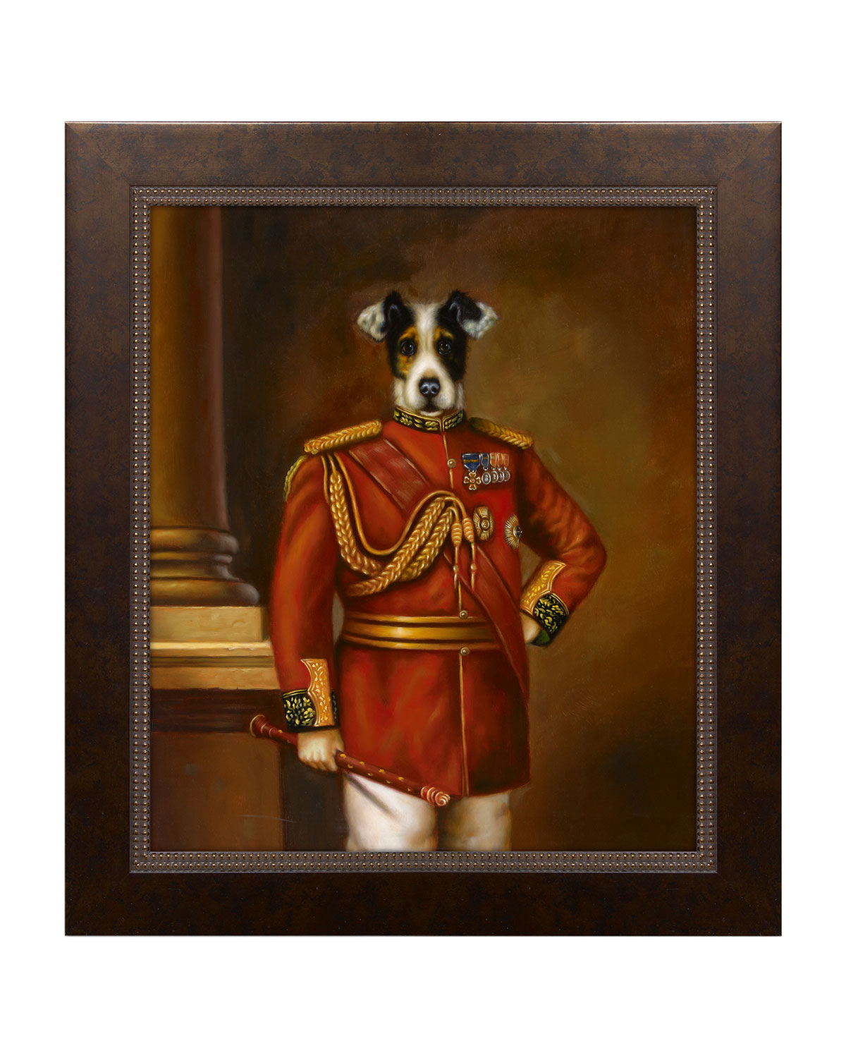 """Regal Beagle"" Giclee Art"