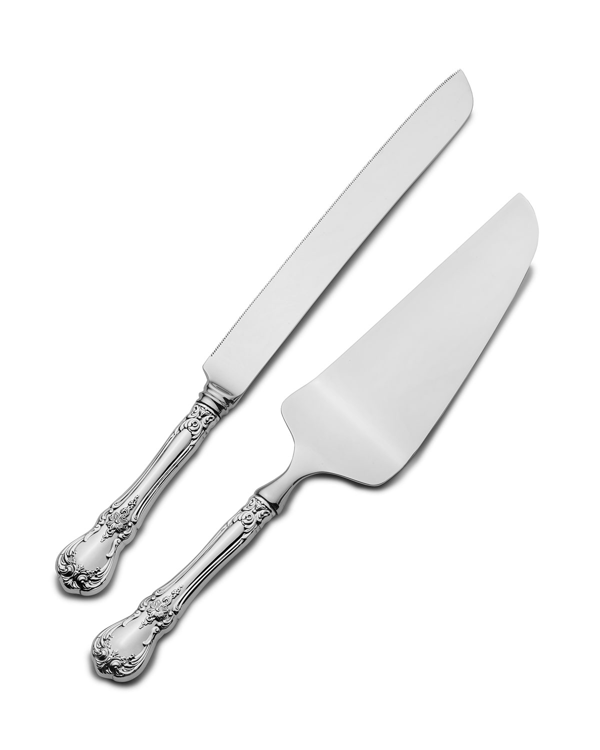 Towle Silversmiths Old Master 2-Piece Cake Serving Set