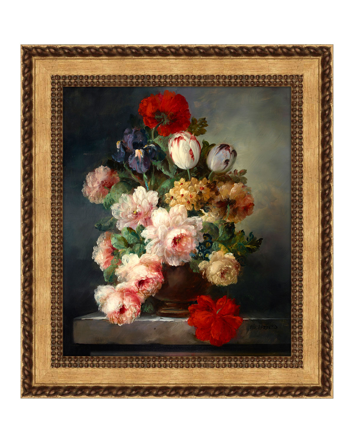 """Dutch Floral"" Giclee Art"