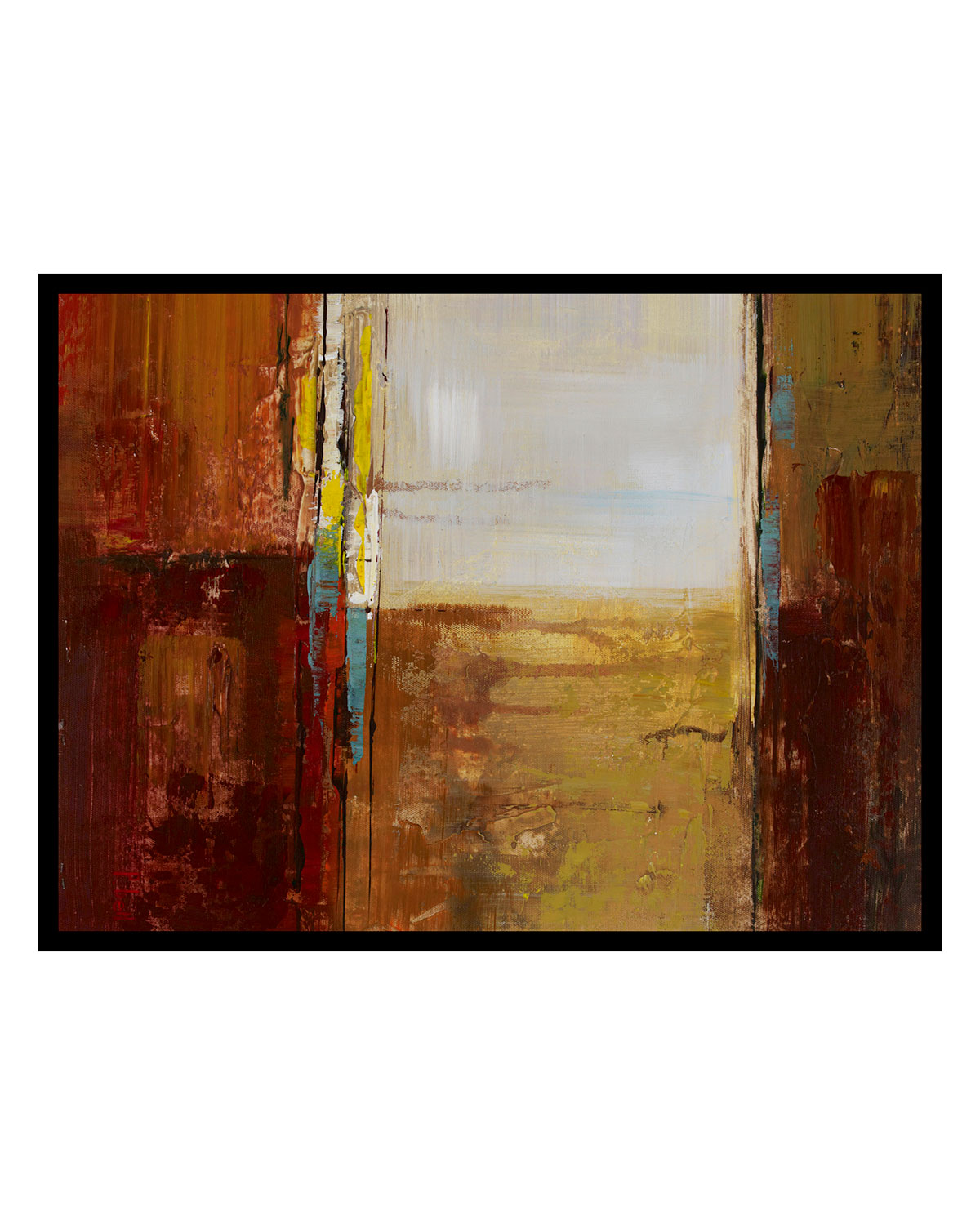 """Abstract II"" Giclee Art"