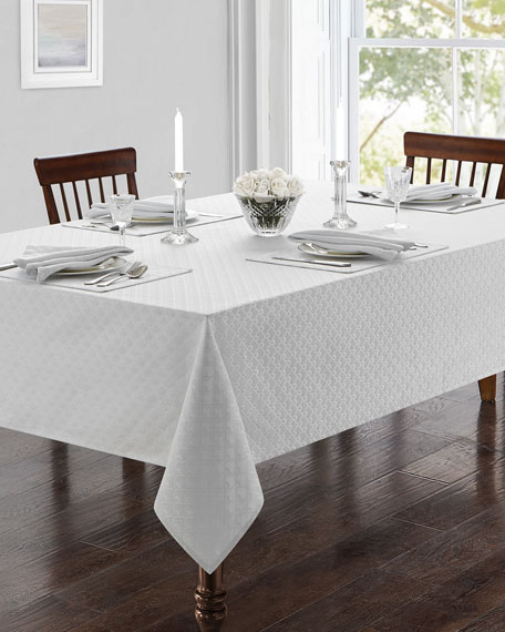 """Waterford Ember 70"""" x 126"""" Tablecloth"""
