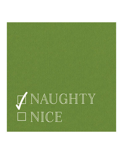 Naughty Nice Cocktail Napkins