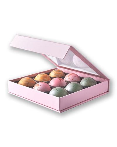 Elegant Box of 9 Truffles