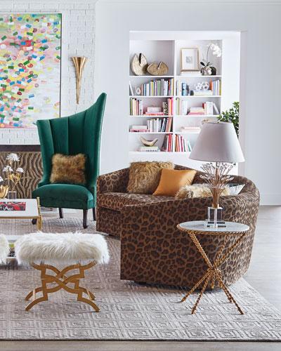 Kylee Leopard Sofa  126