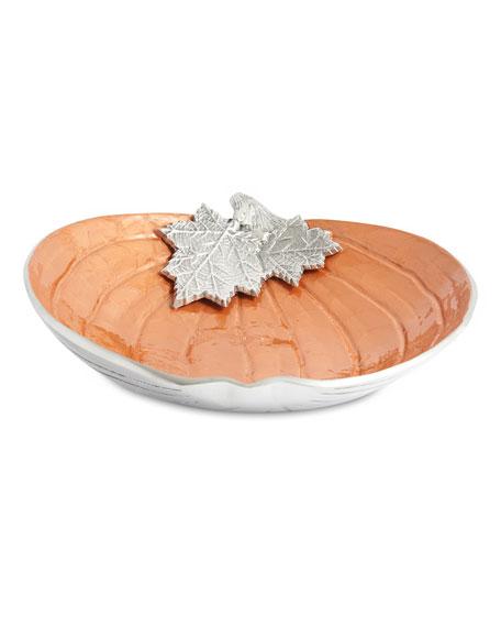 """Julia Knight Pumpkin 12.5"""" Bowl"""