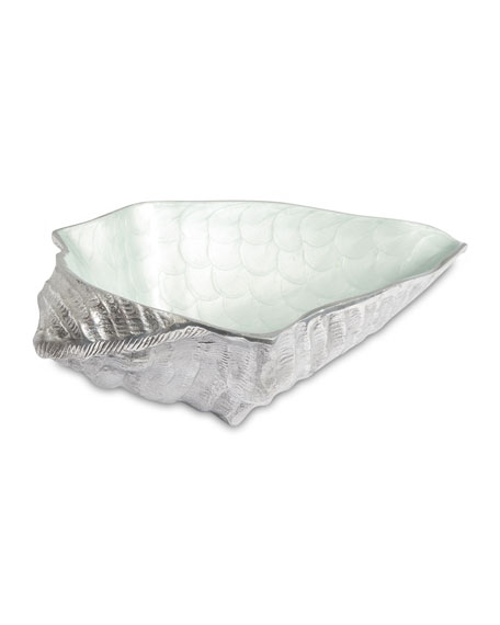 "Julia Knight Conch Shell 13.5"" Bowl"