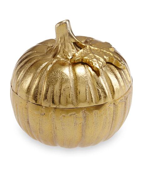 "Julia Knight Pumpkin 5"" Covered Bowl"