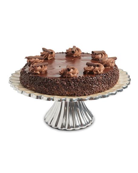 "Julia Knight Peony 10"" Cake Stand"