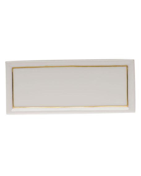 Herend Porcelain Place Card Holder