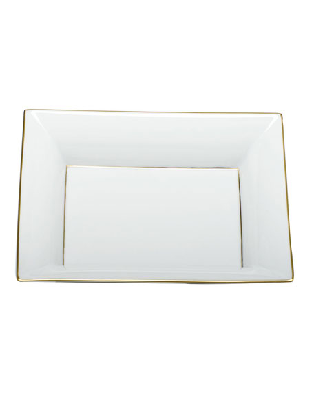Herend Golden Edge Jewelry Tray