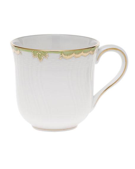 Herend Princess Victoria Green Mug