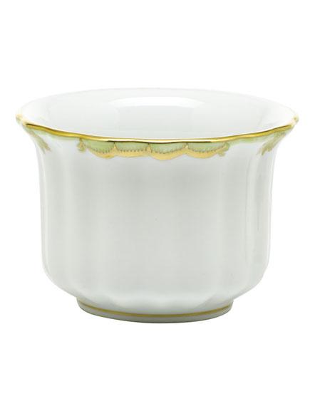 Herend Princess Victoria Green Mini Cache Pot