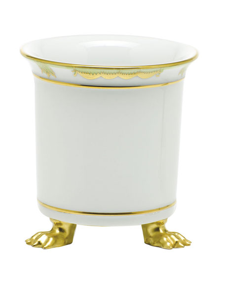 Herend Princess Victoria Mini Cache Pot with Feet