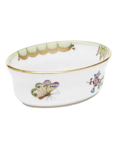 Herend Queen Victoria Mini Oval Bowl