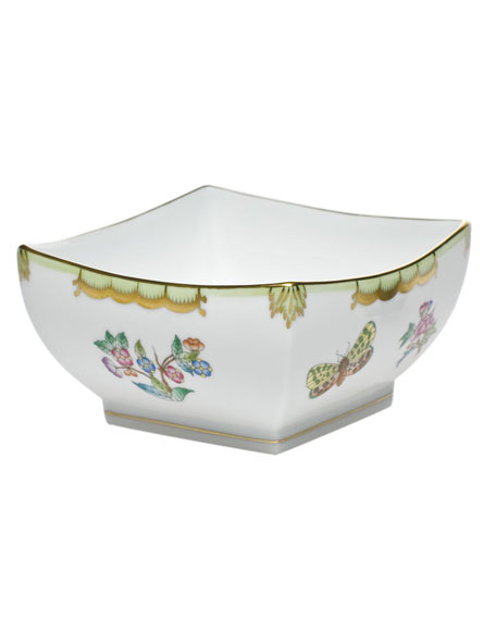 Herend Queen Victoria Small Square Bowl