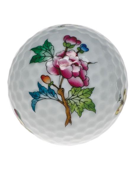 Herend Queen Victoria Green Golf Ball