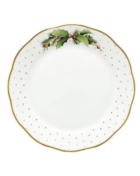 Herend Winter Shimmer Dinner Plate