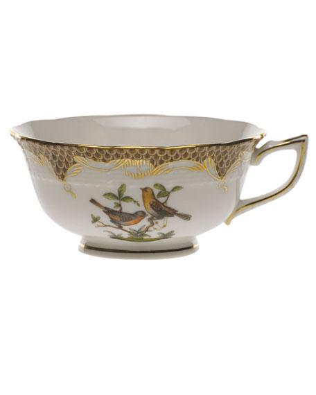 Herend Rothschild Bird Brown Motif 09 Tea Cup