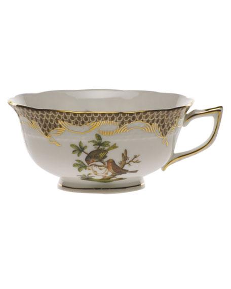 Herend Rothschild Bird Brown Motif 10 Tea Cup