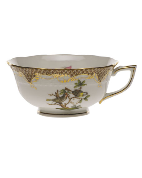 Herend Rothschild Bird Brown Motif 11 Tea Cup