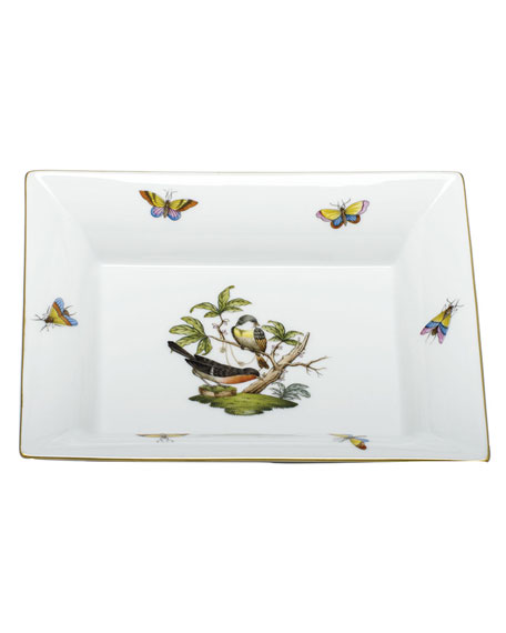 Herend Rothschild Bird Jewelry Tray