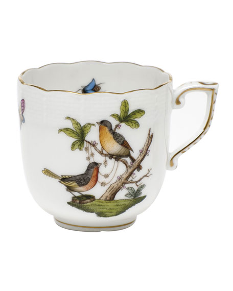 Herend Rothschild Bird Motif 08 Mocha Cup