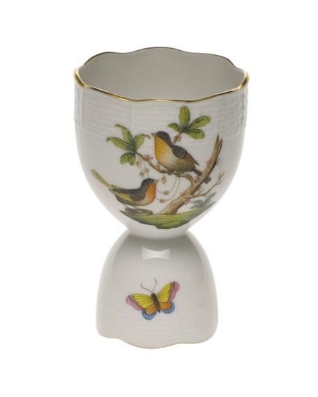 Herend Rothschild Bird Double Egg Cup