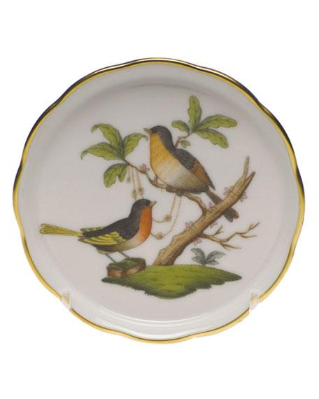 Herend Rothschild Bird Motif 08 Coaster