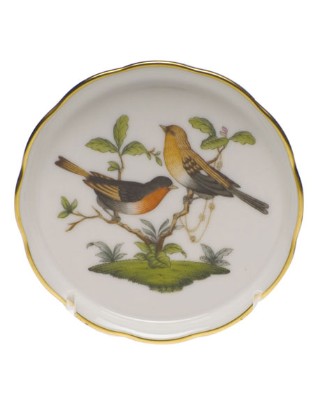 Herend Rothschild Bird Motif 09 Coaster