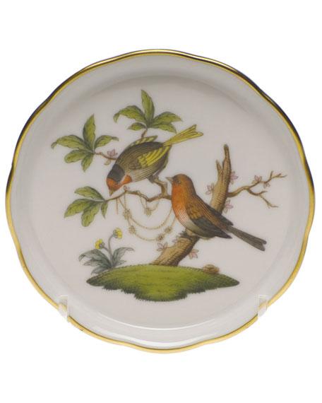 Herend Rothschild Bird Motif 10 Coaster