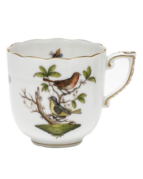 Herend Rothschild Bird Motif 03 Mocha Cup