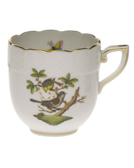 Herend Rothschild Bird After Dinner Cup