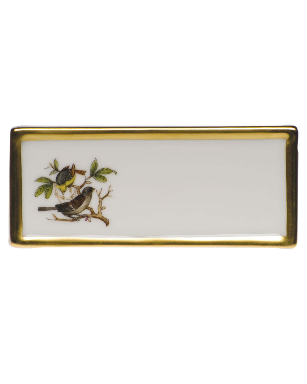 Herend Rothschild Bird Place Card Holder - Motif 01