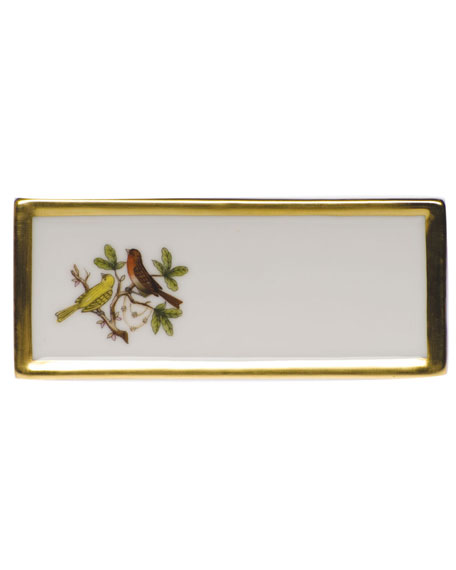 Herend Rothschild Bird Place Card Holder - Motif 06