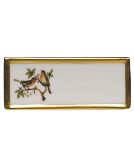 Herend Rothschild Bird Place Card Holder - Motif 08