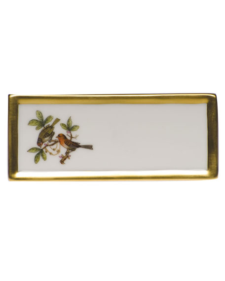 Herend Rothschild Bird Place Card Holder - Motif 10