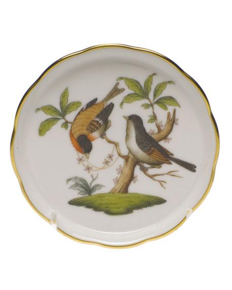 Herend Rothschild Bird Motif 12 Coaster