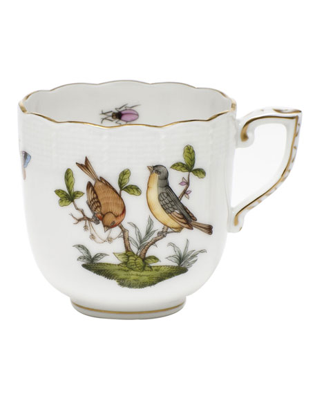 Herend Rothschild Bird Motif 07 Mocha Cup