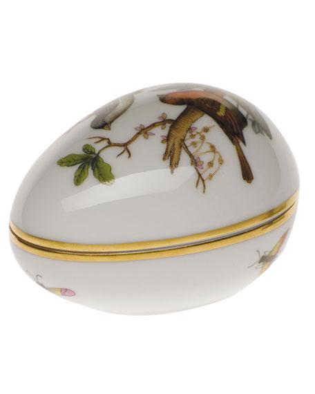 Herend Rothschild Bird Egg Bonbon