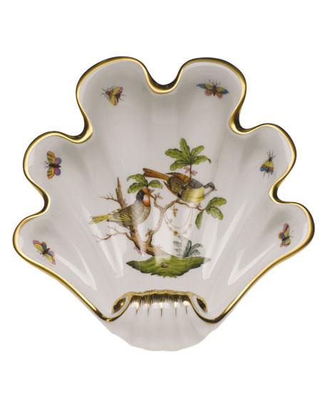Herend Rothschild Bird Large Shell Dish