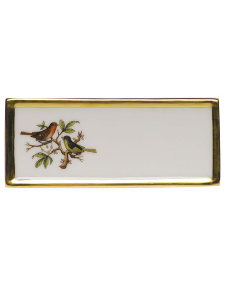 Herend Rothschild Bird Place Card Holder - Motif 03