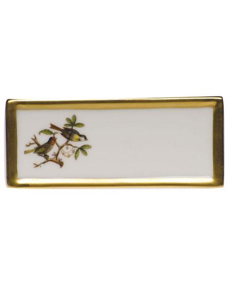 Herend Rothschild Bird Place Card Holder - Motif 11