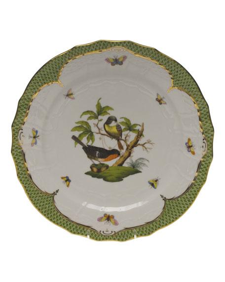 Herend Rothschild Bird Green Motif 02 Service Plate